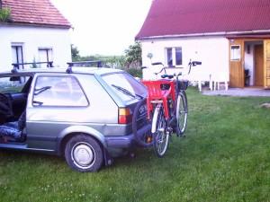 Bagażnik do przewożenia rowerów (2)